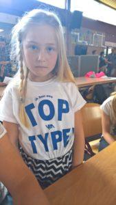 Nikki Hendriks top typer (3e plaats)